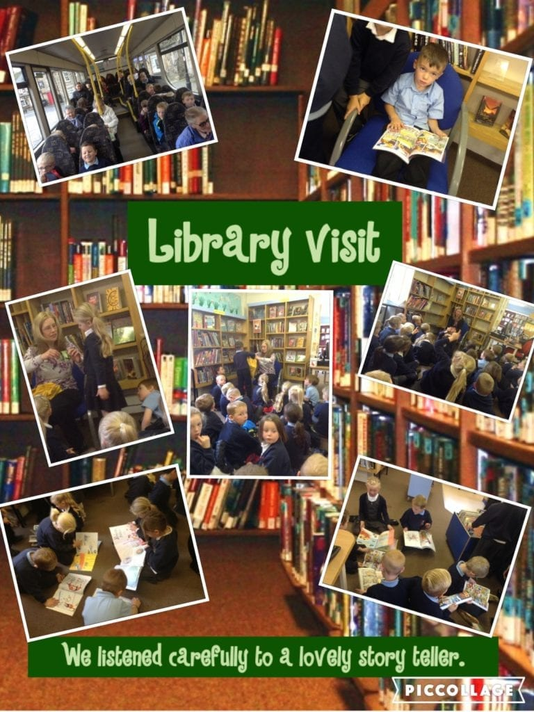 Class 1 Library visit 2016