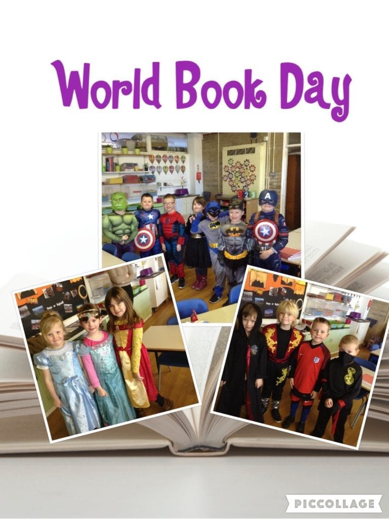 Class1A-World Book Day 2017